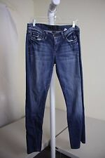Lucky Brand SWEET N'LOW INDIGO WINGS Cotton Blend Stonewashed Boot Cut Jeans - 6