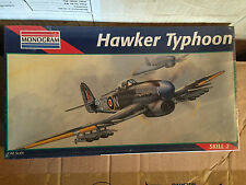 MONOGRAM KIT IN SCALA 1/48,HAWKER TYPHOON NUOVISSIMO VINTAGE!!!