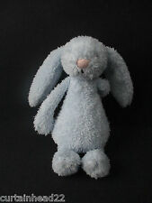 PELUCHE Blu BUNNY BABY Comforter JELLY GATTINO CON SONAGLIO GIOCATTOLO MORBIDO