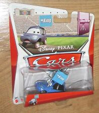 New Disney Cars Matthew True Blue McCrew King fanMattel diecast 1:55