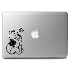 Pooh Looking Leaf for Macbook Air/Pro Laptop Car Window Bumper Decal Sticker