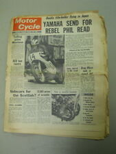 Motor Cycle Newspaper, Dec 11, 1968, Yamaha send for Rebel Phil Read.   MCNP 68