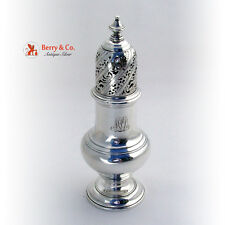 Sugar Caster Shaker Sterling Silver Tiffany and Company 1900