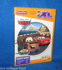 FISHER PRICE DISNEY CARS IXL SOFTWARE NEW