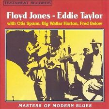 Masters of Modern Blues by Floyd Jones (Guitar) (CD, Aug-1994, Shout! Records)