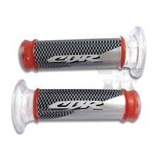 """PVC 25mm 1"""" Handlebar Grips """"CBR"""" For Honda CB CBR NSR RVF RVT VFR VTR Hornet"""