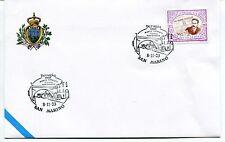 2003-11-08 San Marino Perugia 33°convegno filatelia numismatica ANNULLO SPECIALE