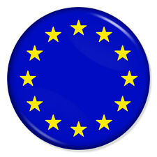 "EU EUROPEAN UNION FLAG 25mm 1"" Pin Badge BREXIT UK REFERENDUM"