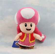 Nintendo Super Mario Bros Toadette Stuffed Animal Soft Plush Toy Gift 17cm