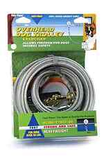 Heavy Duty Dog Runner Trolley System 75 Ft. Exerciser Pet Supplies Yard Home