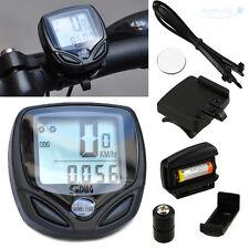 Wireless Waterproof LCD Digital Speedometer Odometer For Cycle Bicycle Bike