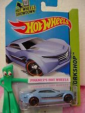 Case B 2015 i Hot Wheels RYURA LX #204∞light Blue;orange rim pr5∞∞Night Burnerz