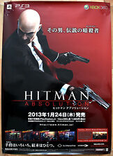 Hitman Absolution RARE PS3 XBOX 360 51.5 cm x 73 cm Japanese Promo Poster