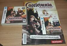 Castlevania Portrait Of Ruin with Poster for PAL Nintendo DS i Lite 3DS 2DS XL