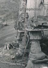 NORVEGE c. 1950 - Pilotis Fondations Bois Pierres Norway - DIV381