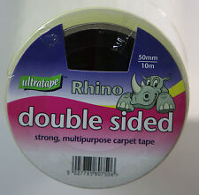 Ultratape Rhino Double Sided Tape Multi-purpose Strong Heavy Duty 50mm x10 meter