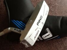 "PING ANSER MILLED SERIES NO.3 PUTTER 35"" GOLF CLUB - LEFT HAND"
