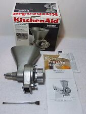KITCHENAIDE GMA KGMA KGM Stand Mixer Grain Mill Attachment NEW