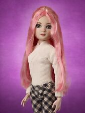 Tonner Wilde Ellowyne ~ Teenage Dream Long Pink Wig