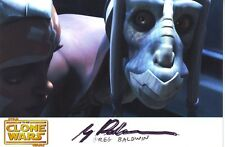 Greg Baldwin - Star Wars -  Autogramm - Signed - Clone Wars - Tera Sinube