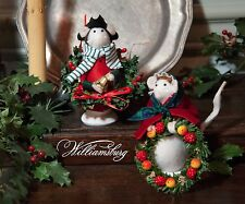 Byers Choice Williamsburg Colonial Boy & Girl Set Mouse Adorable!