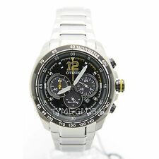 Citizen Eco-Drive CA4234-51E Tachymeter Chronograph Stainless Steel Analog Watch
