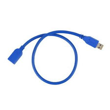 USB 3.0 Male A to Female A Extension Data Sync Cord Cable Adapter 1.6FT UL