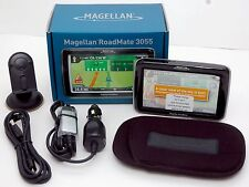 Magellan Roadmate 3055T Car Portable GPS Navigator System navigation TRAFFIC -B-