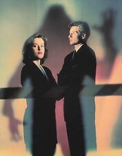 THE X-FILES FOX MULDER & DANA SCULLY EXTRA LARGE PHOTO POSTCARD 1996 #267