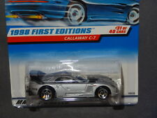 HW HOT WHEELS 1998 FE FIRST EDITION #31 CALLAWAY C7 HOTWHEELS SILVER VHTF RARE