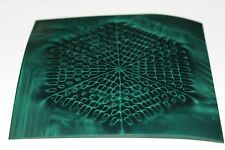 Magnetic Field Viewer Film 203 mm x 203 mm (8 in x 8 in) - Genuine 'Green film'.