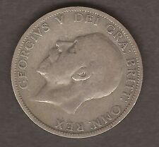 SILVER ONE FLORIN GB COIN GEORGE V 1936 #B