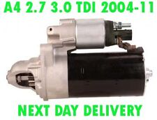 AUDI A6 2.7 3.0 TDI SALOON ESTATE 2004 2005 2006   2011 NEW RMFD STARTER MOTOR