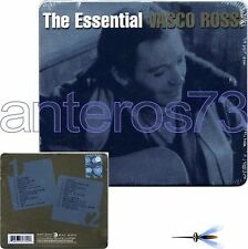 "VASCO ROSSI ""THE ESSENTIAL"" RARO 2 CD TIN BOX 2008 - SIGILLATO"