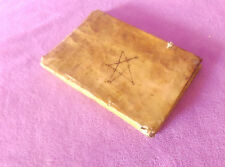MANUSCRITO ORIGINAL DE ORENCIO ARDANUY NABASCUES CALIF. SANTA INQUISICION 1696