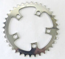"T.A. 36T Chainring 94 BCD Aluminum  3/32"" VINTAGE OLD Road bike triple NOS"