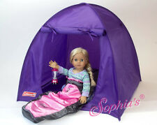 "Purple Coleman® Tent Toys for 18"" American Girl Dolls"