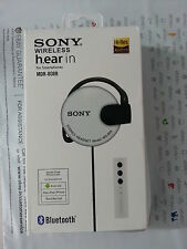 NEW Sony MDR MS-808 Bluetooth EARPHONE HEADPHONE HEADSET 3.5MM JACK - White