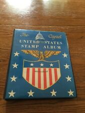 US Stamp Collection In Capital Stamp Album