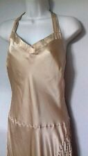 COAST silk bias Dress flapper 20s 30s 40s Gatsby Art Deco Party uk14