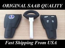 SAAB ORIGINAL QUALITY KEY FOB AND BLADE REPLACEMENT KIT 2008 2009 2010 2011