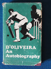Cricket Book - D'Oliveira - An Autobiography - 1969 - Published by Sportsmans