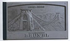 (Ga3412-465) 2006 Prestige Booklet - Birth Bicentenary of I.K.Brunel - DX36 MINT