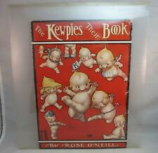 Vtg child's book cover.The Kewpies Their Book.Rose O'Neill
