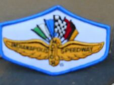 "VINTAGE  INDIANAPOLIS SPEEDWAY PATCH ; 4"" W BY 3""  TALL  SEW ON PATCH"