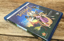 Tangled Blu-ray/DVD 2011 4-Disc Set NO Digital Copy 2D/3D Disney Movie