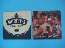 Beer Collectible Coaster ~*~ MURPHY'S Smooth, Dry Irish Stout ~*~ Cork, IRELAND