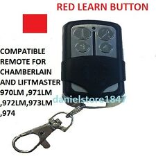 Sears Craftsman Garage Door Opener Remote Control Part Mini Red Learn Button