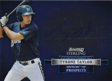 2012 BOWMAN STERLING TYRONE TAYLOR RC ROOKIE AUTO #BSAP-TT