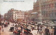 London Charing Cross and Strand Vintage Cars Voitures Bureau Change
